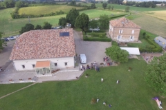 La Grange Martissan - vue aérienne