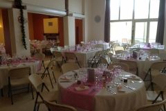 Salle Isidore - tables rondes